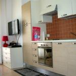 cucina residence Fortuna a Rimini Marina Centro