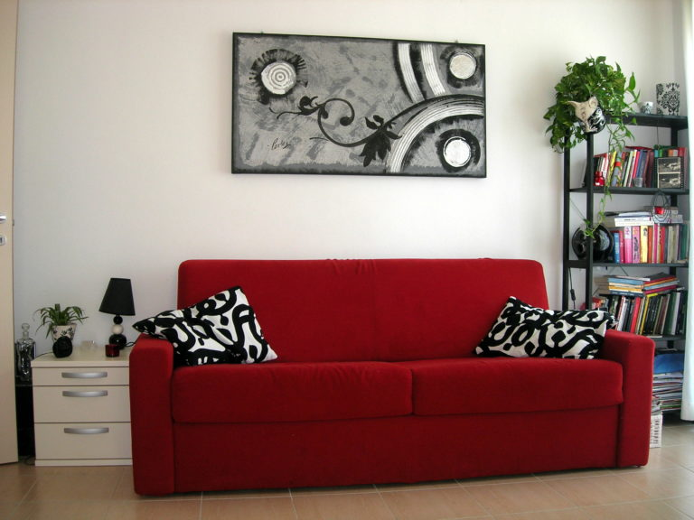 divano residence Fortuna a Rimini Marina Centro